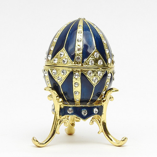"Mini Royal Blue Egg Box [2½""]"