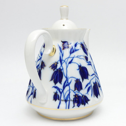 Bluebells Teapot Back
