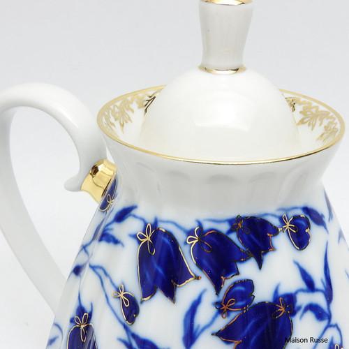 Bluebells Teapot Close Up
