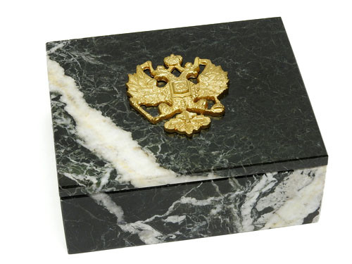 Executive Marble Jewelry Box