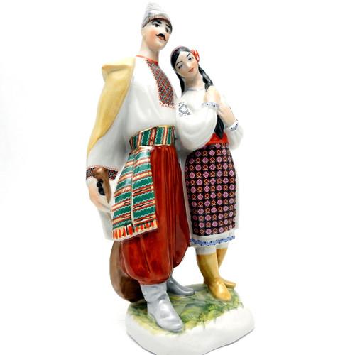 Galya and Levko [Kiev Porcelain]