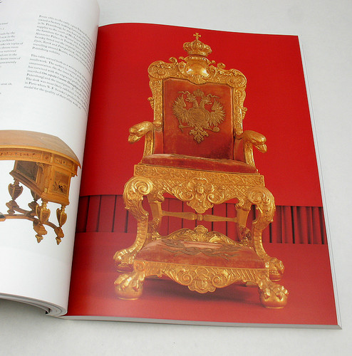 The Russian Imperial Throne