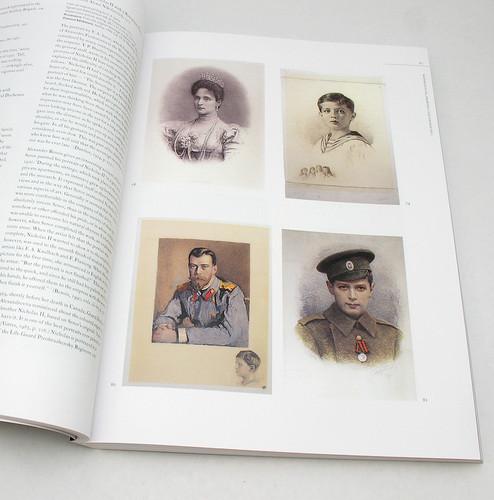 Artist's portraits of Alexandra, Nicholas, and Prince Alexei