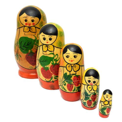 Tiraspol Matryoshka Maidens Doll  [Older]