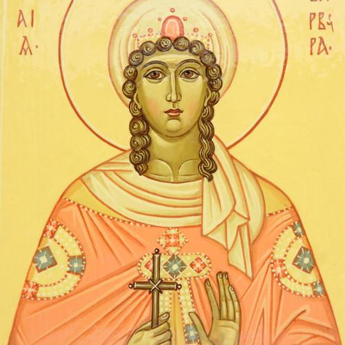 St. Barbara Icon