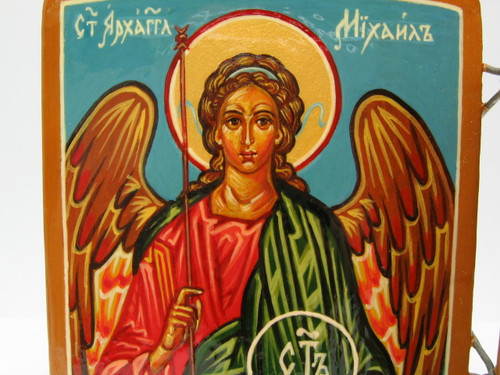 St. Michael icon within the Christ with Saints Triptych