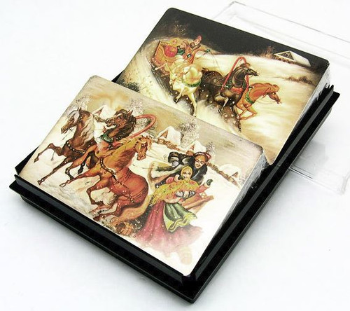 Lacquer Art Playing Cards