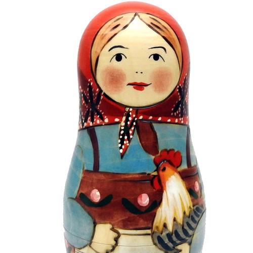First Russian Matryoshka Doll
