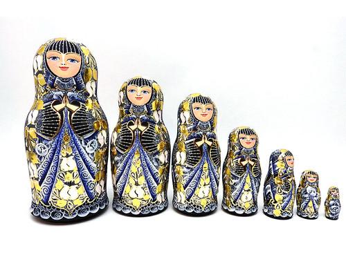 Golden Cobalt Maiden (Золотая Кобальтовая Девица) by Elena Filatova