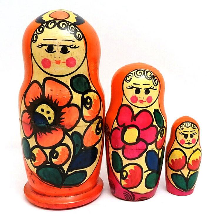 Polkhovsky Maidan Matryoshka 3-pc