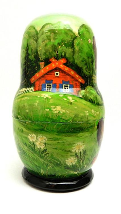 Kolobok (Little Round Bun) Matryoshka Doll