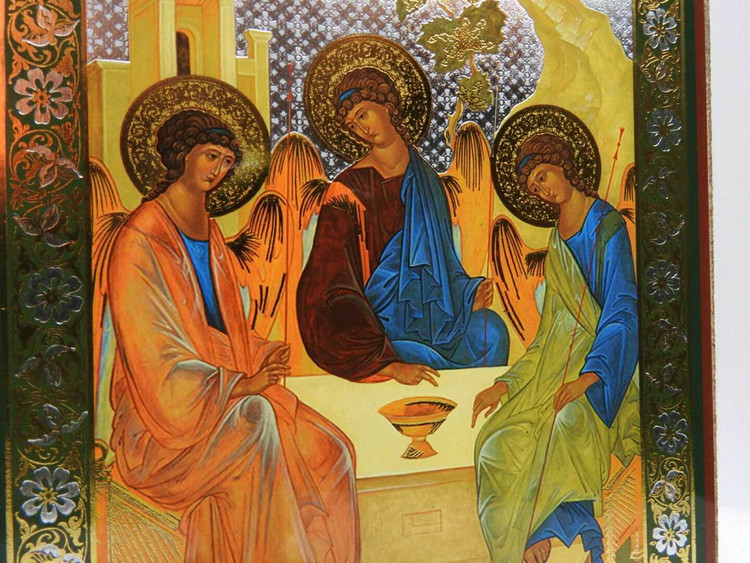 Holy Trinity Icon (small)
