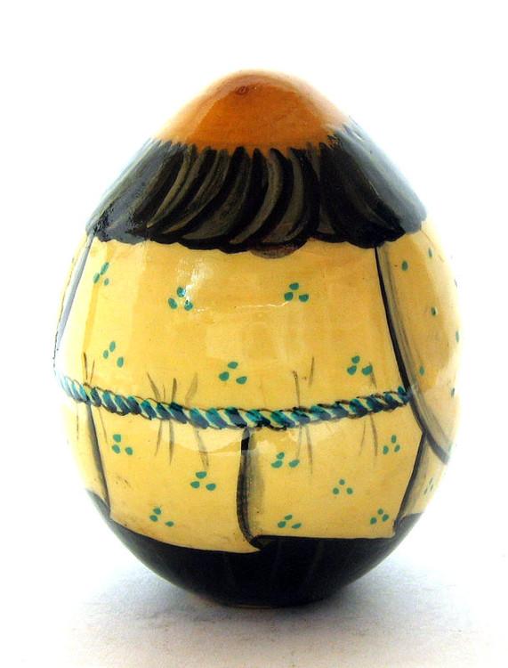 Easter Egg Dedushka's Lapti (Дедушкины Лапти) back view