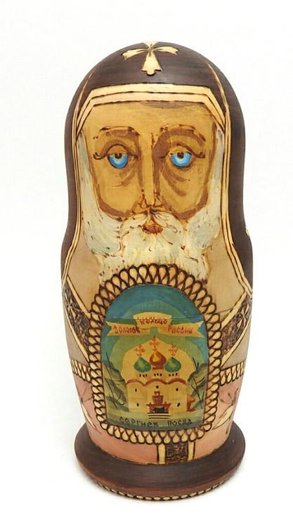 Golden Ring Artistic Matryoshka