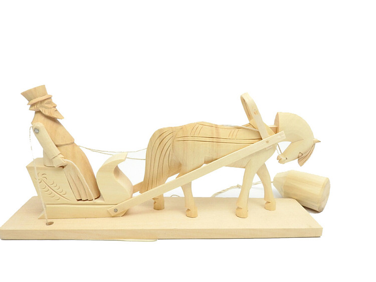 Rakish Coachman Bogorodsk Action Toy
