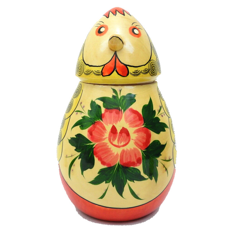 """Chicken """"Counting"""" Nesting Toy"""