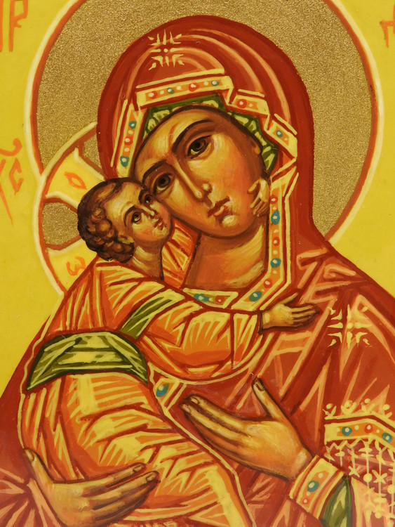 Vladimir Mother  of God Icon