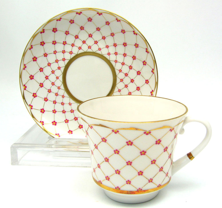 Personal Tea Cup and Saucer