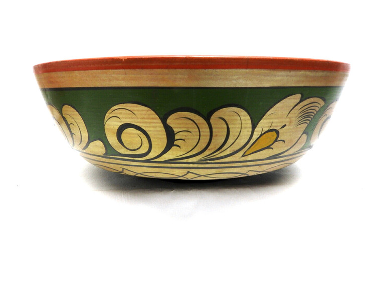 Vintage Khokhloma Bowl mid-20th century