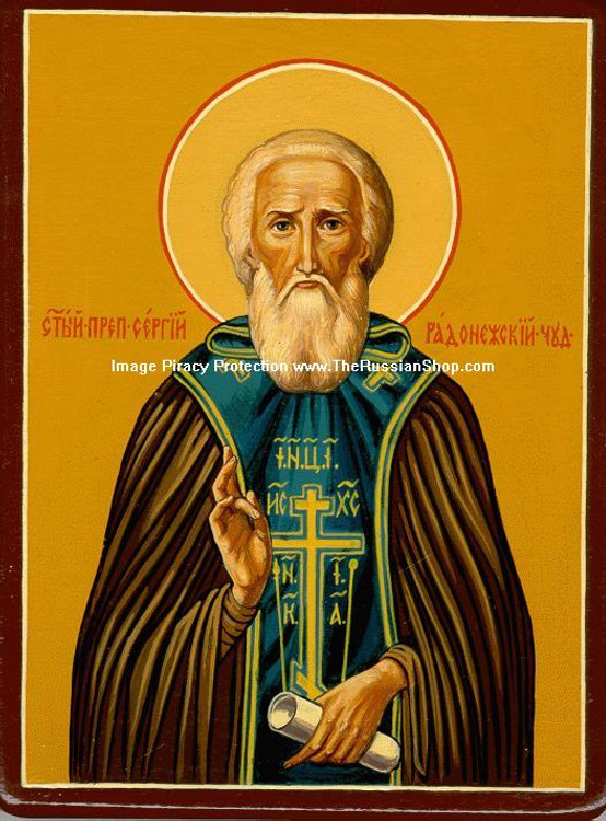 Venerable Sergius of Radonezh (Преподобный Сергий Радонежский)