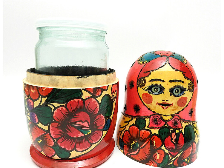 Polkh Maidan Jar Holder