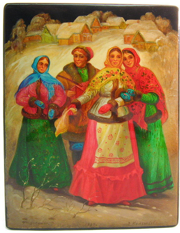 """The Village Courtship"" (Ухаживание в Деревне)"