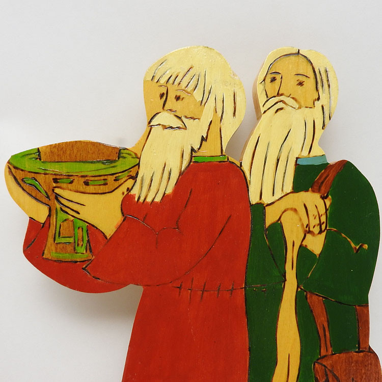 An Appeal of Hospitality to the Bogatyr, Ilya Muromets (2pc set)