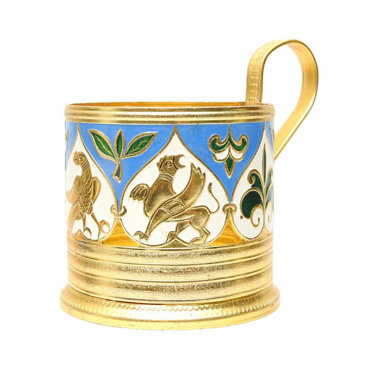 """Mythical Creatures"" Tea Glass Holder"