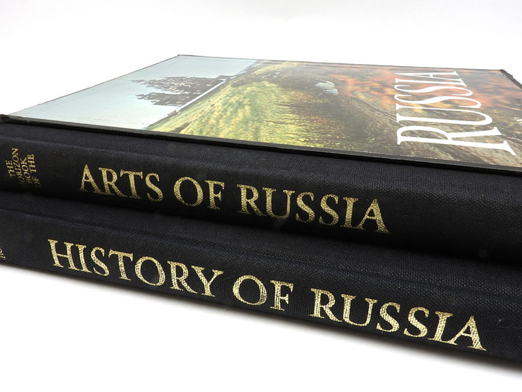 The Horizon Book of Russian Arts and History