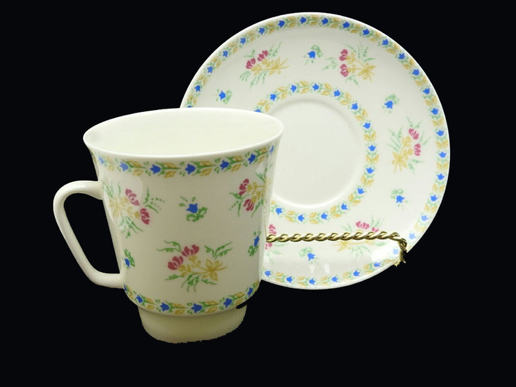 Bluebells Bone China Tea Cup and Saucer