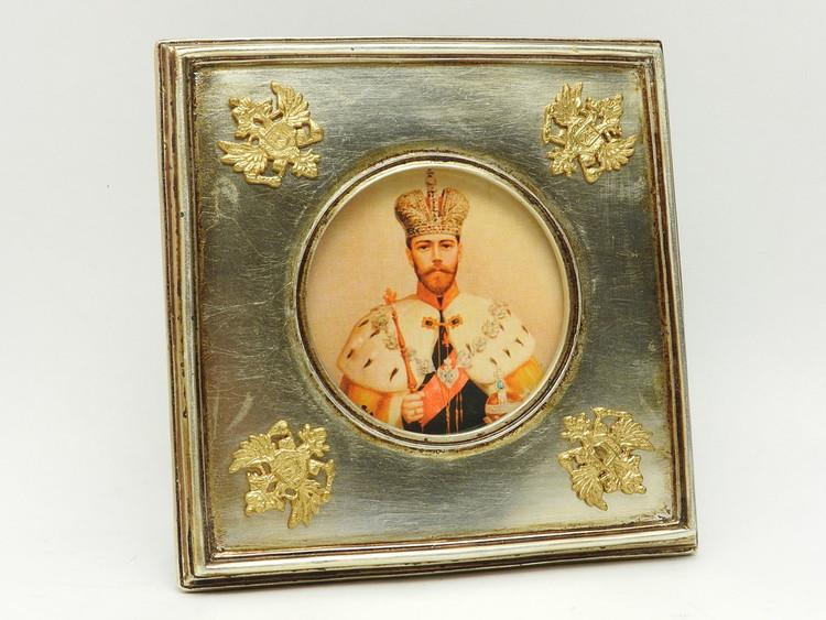 Tsar Nicholas Coronation Imperial Eagle Frame
