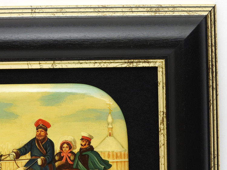Russian Imperial Tsar Alexander II 1855 Miniature Painting