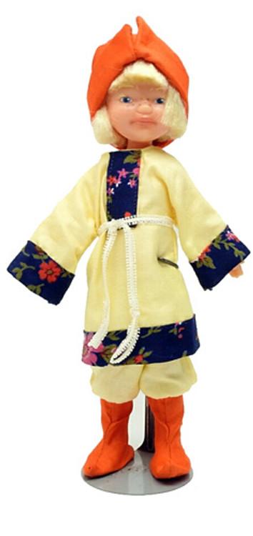 Freckled Timoshka Ryazheny Minstrel Doll