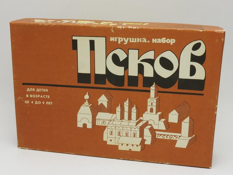 Russian Village Pskov Toy Building Blocks