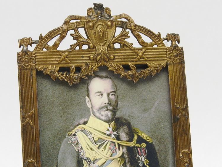 Brass frame made in France
