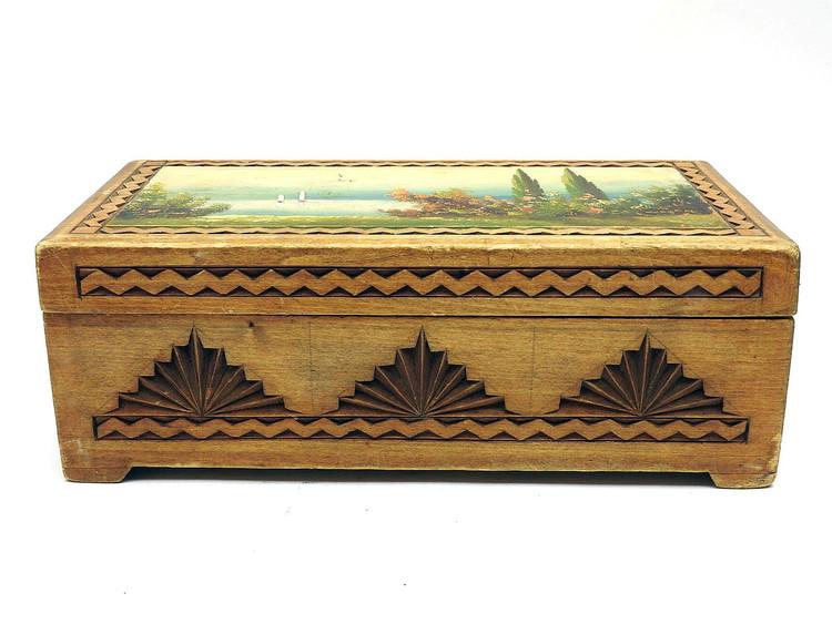 Early/Mid 20th Century Vologda Box