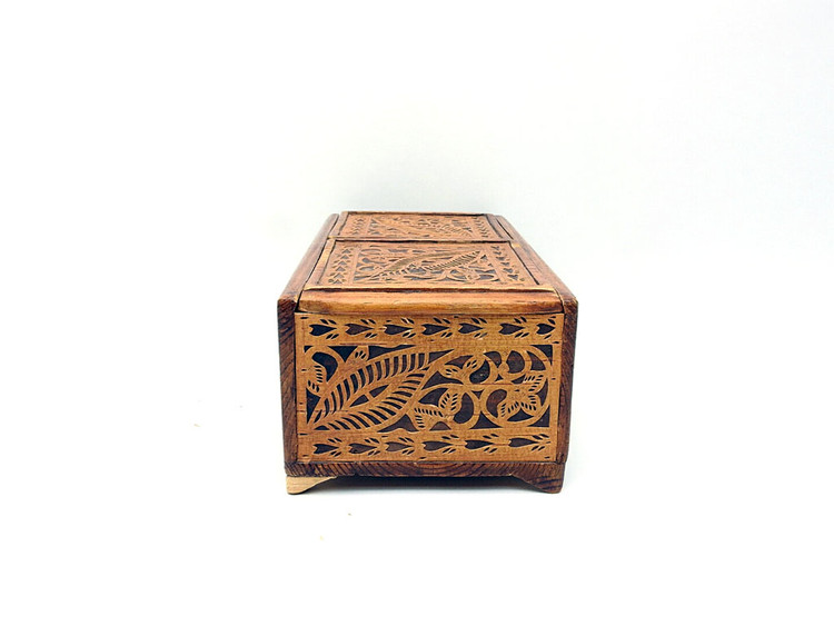 Vintage Shemogodian Birch Carving