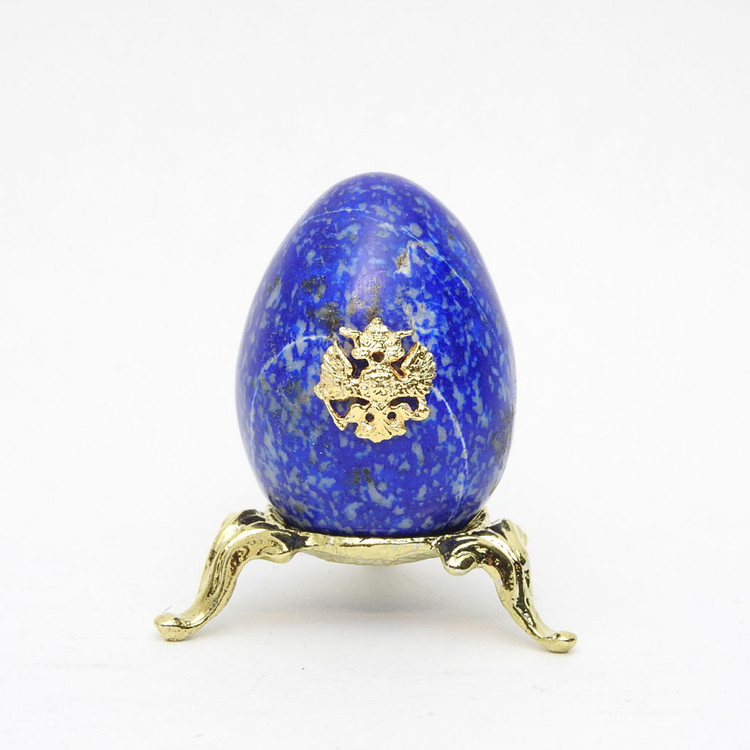 Imperial Russian Eagle Egg Blue 2