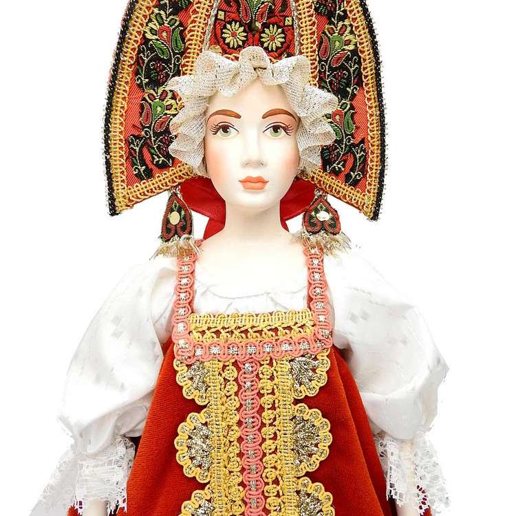 Village Wedding Russian Costume Doll