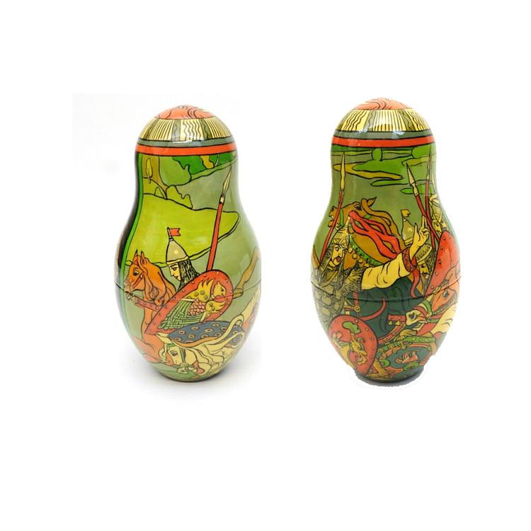 Bilibin Fairy Tales Illustrations Artistic Matryoshka 5th Doll Two Views