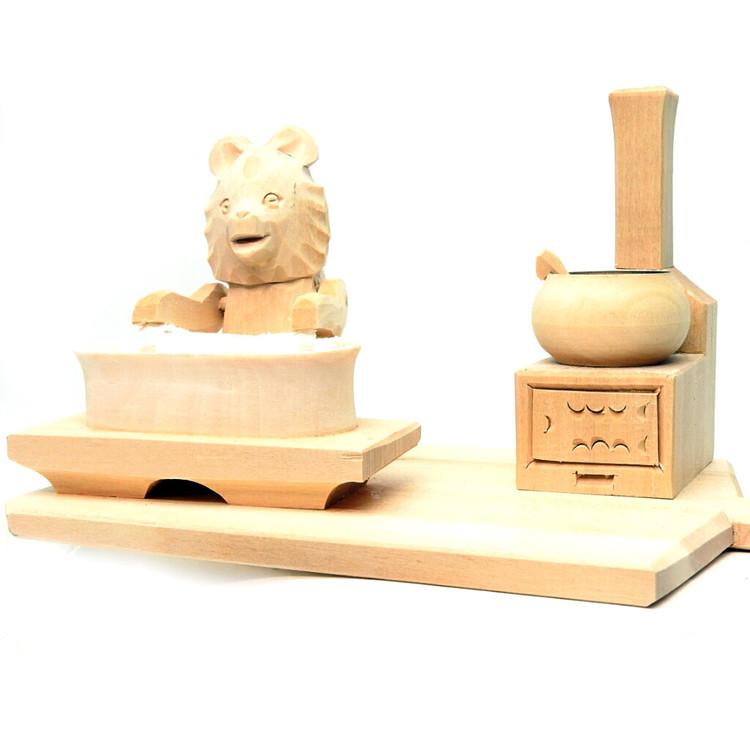 Misha the Bear Doing Laundry Bogorodsk Toy