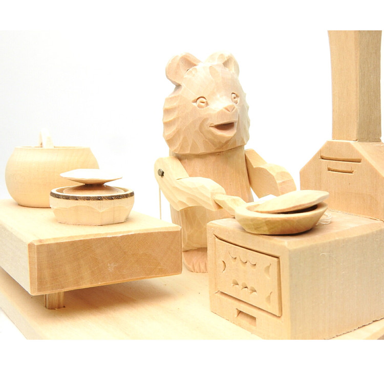 Misha the Bear Makes Pancakes Bogorodsk Toy