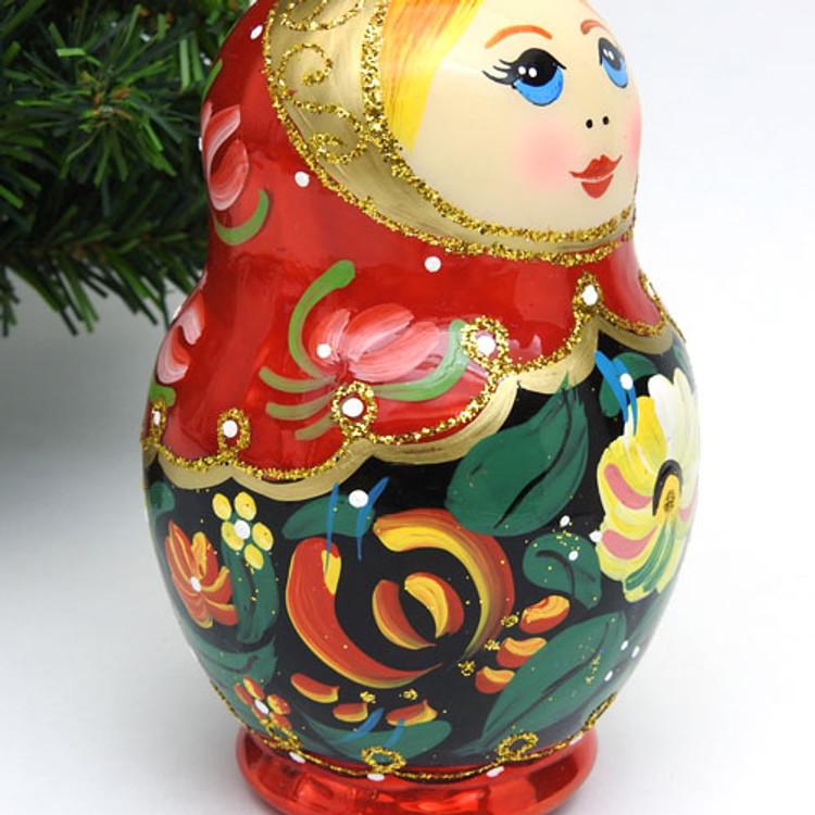 Matryoshka Christmas Ornament