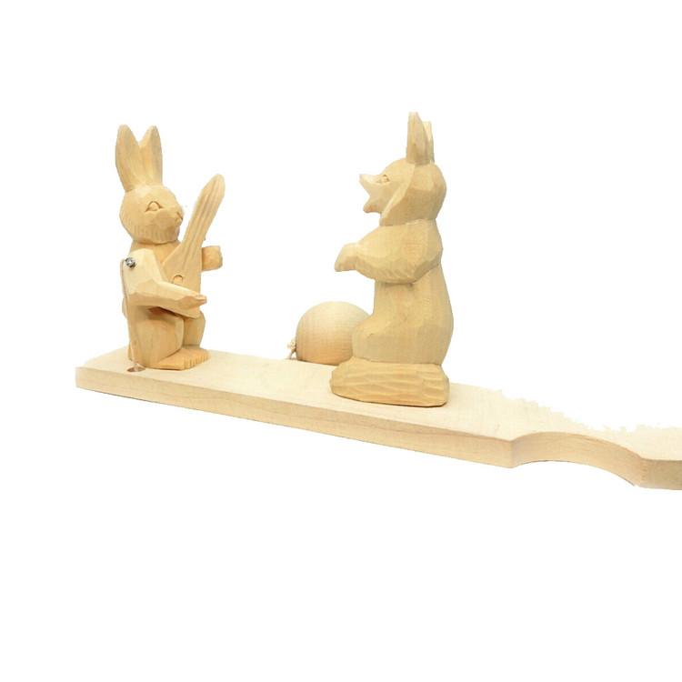 Fox and Rabbit Bogorodsk Toy