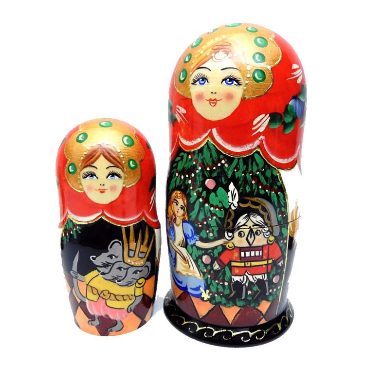 Nutcracker Matryoshka Doll  First Two