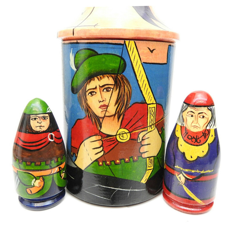 Robin Hood Nesting Toy Set