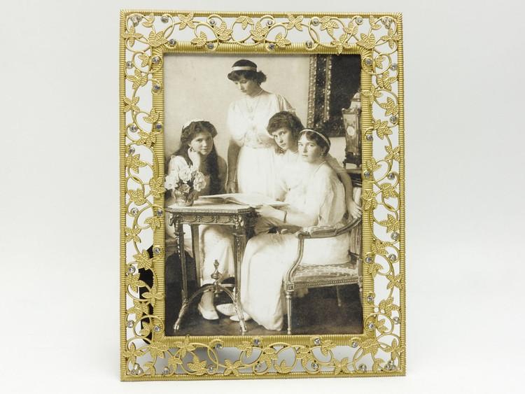 Russian Grand Duchesses Portrait Victorian Design Frame