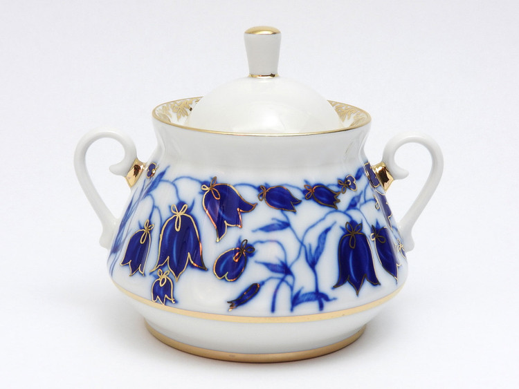 Bluebells Sugar Bowl with Lid