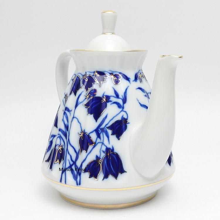 Bluebells Teapot Front
