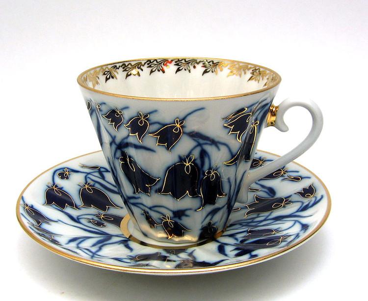Blue Bells Tea Cup and Saucer